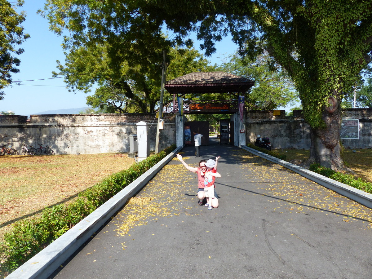 penang malaysia points of interest   Fort Cornwallis