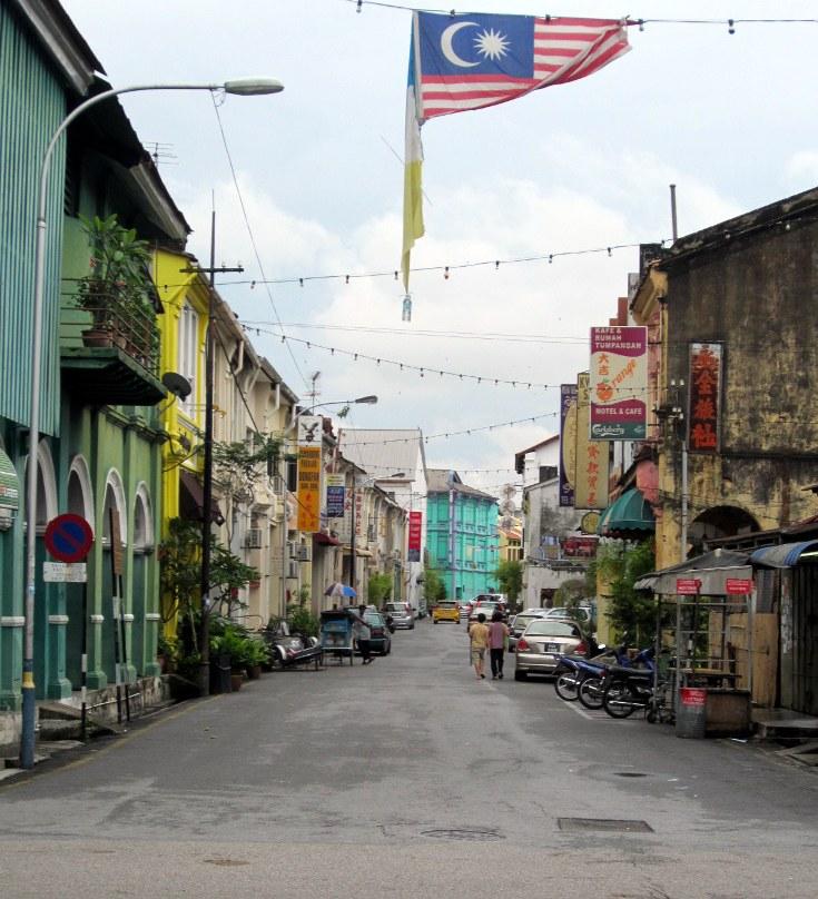Penang Trip | Street Scene on Pulau Penang