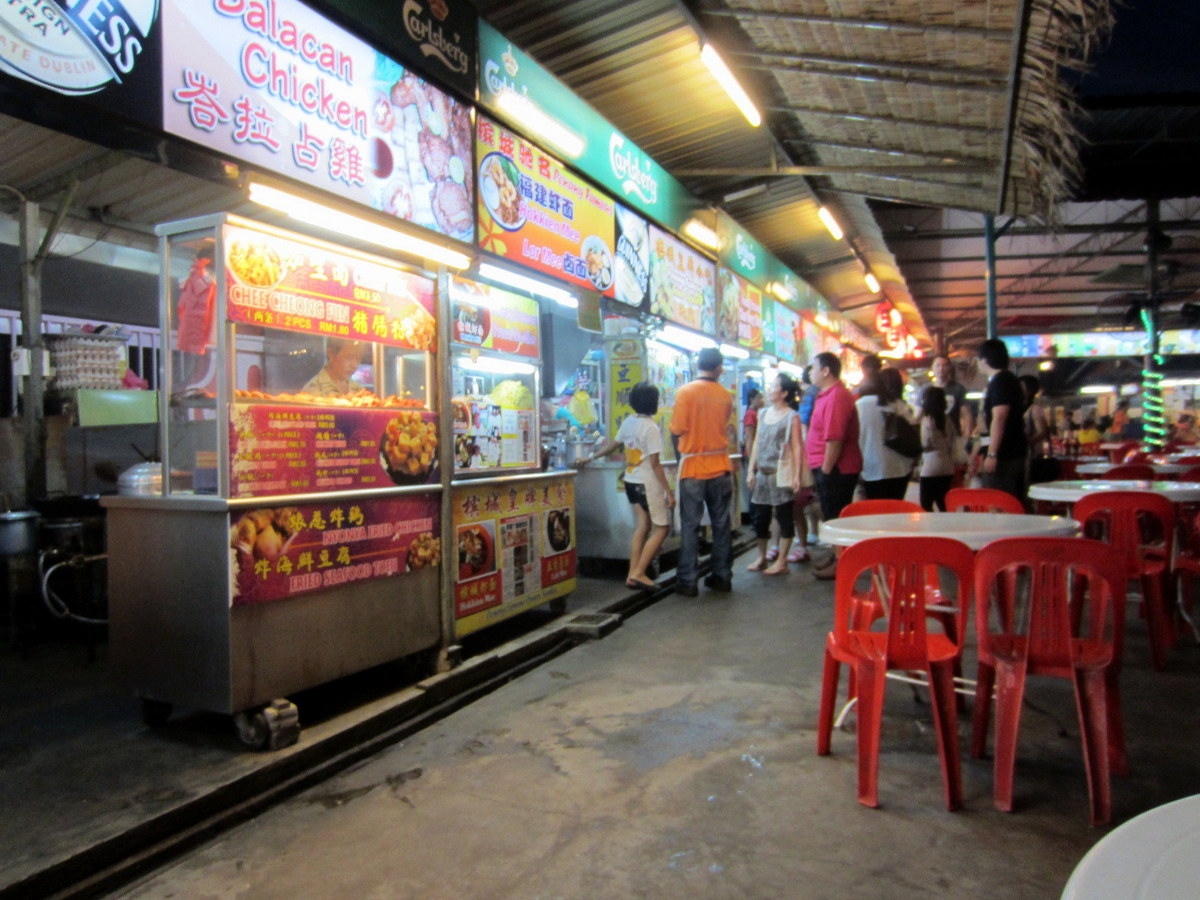 places to eat in penang | hawker centers