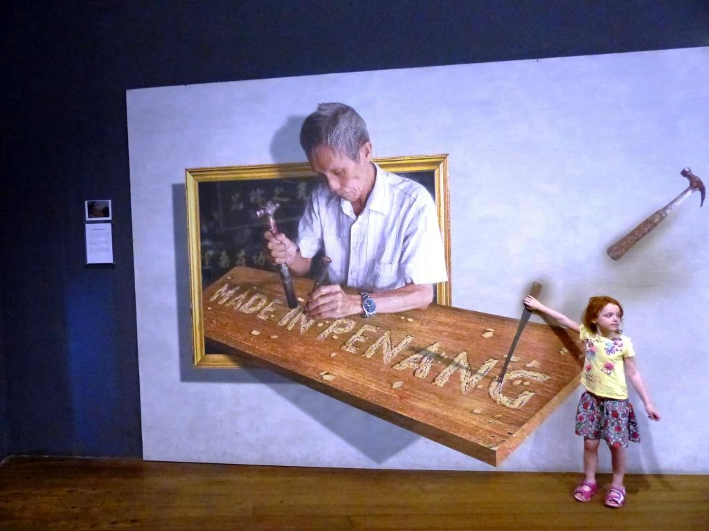 penang top tourist attractions | penang museum interactive art