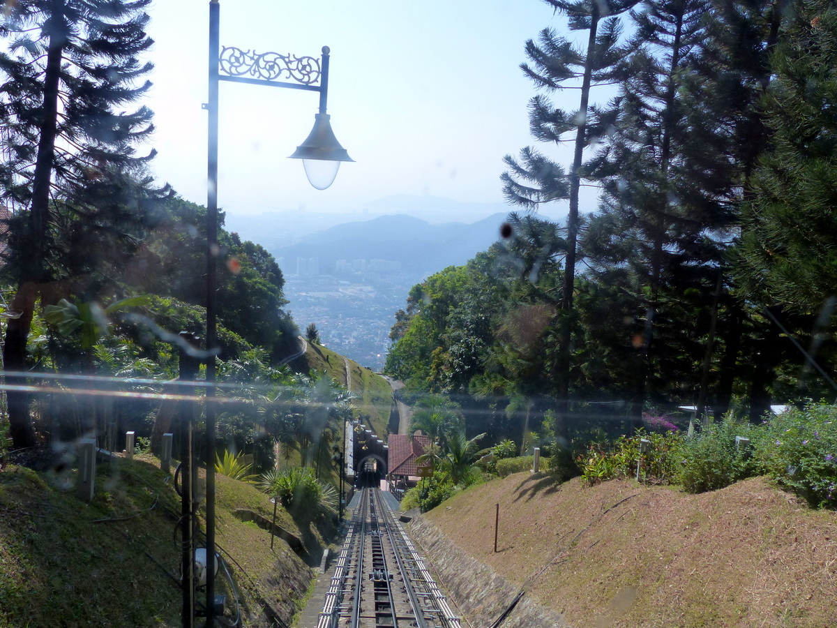 things to do in penang | funicular up penang hill