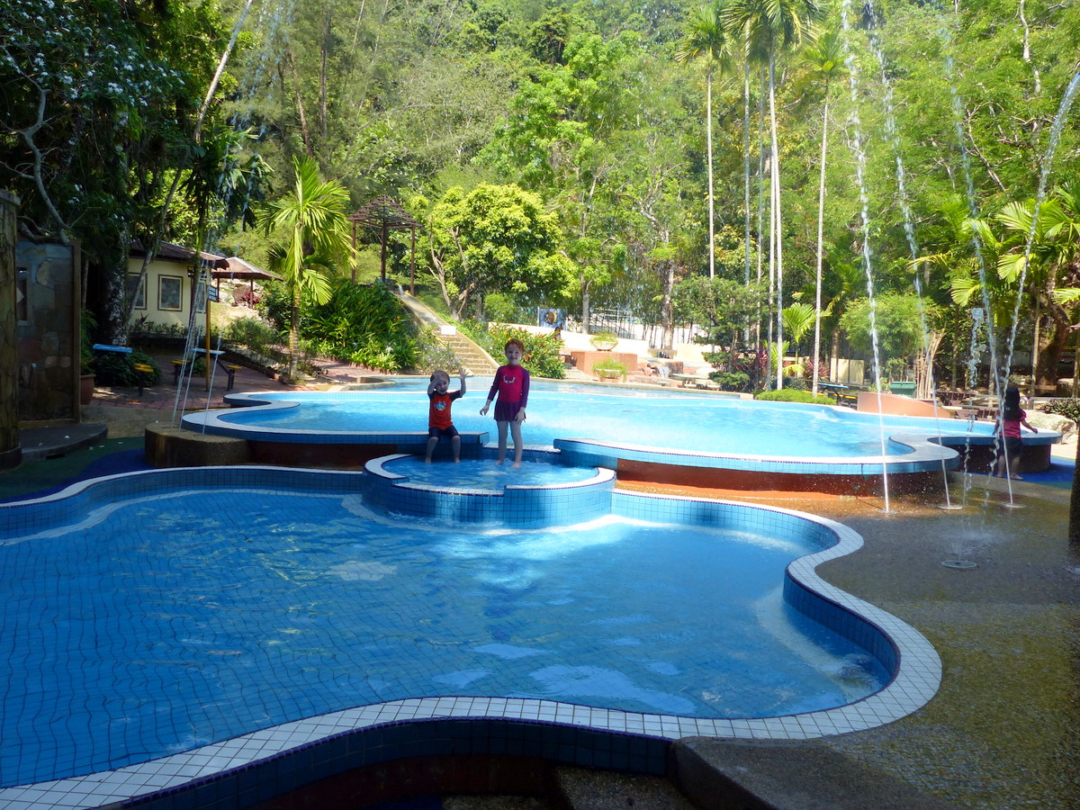 pools at a youth park | Free things to do in Penang