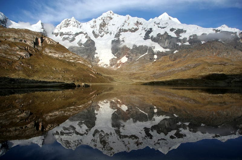 mountains and hiking in peru