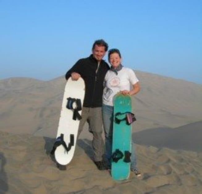 sand boarding huacuchina