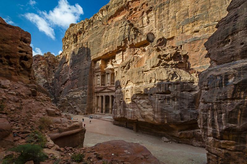 petra jordan | treasury unobstructed view