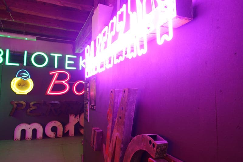 things to see in Poland neon museum