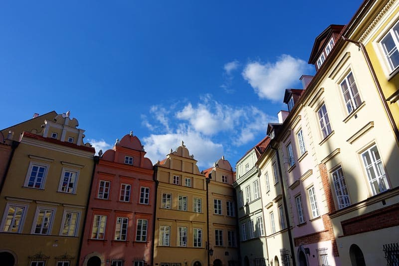 things to see in poland old town warsaw