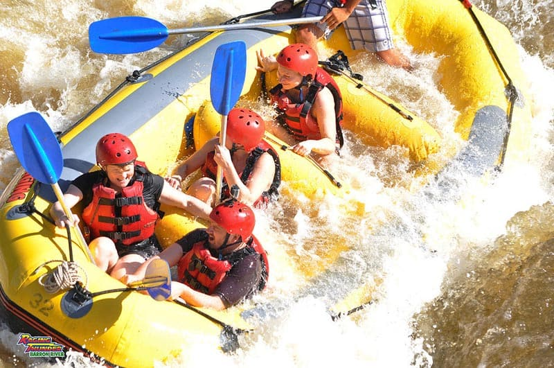 what to do in Queensland whitewater rafting