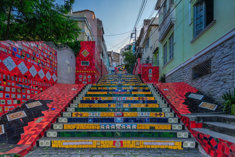 things to do in rio de janeiro stairs