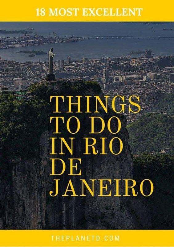 things to do in rio de janiero