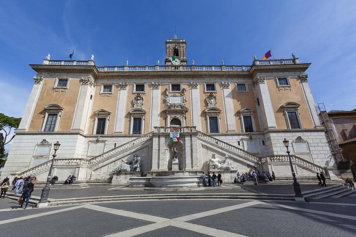 The Capotoline Museums are on of the things to see in Rome