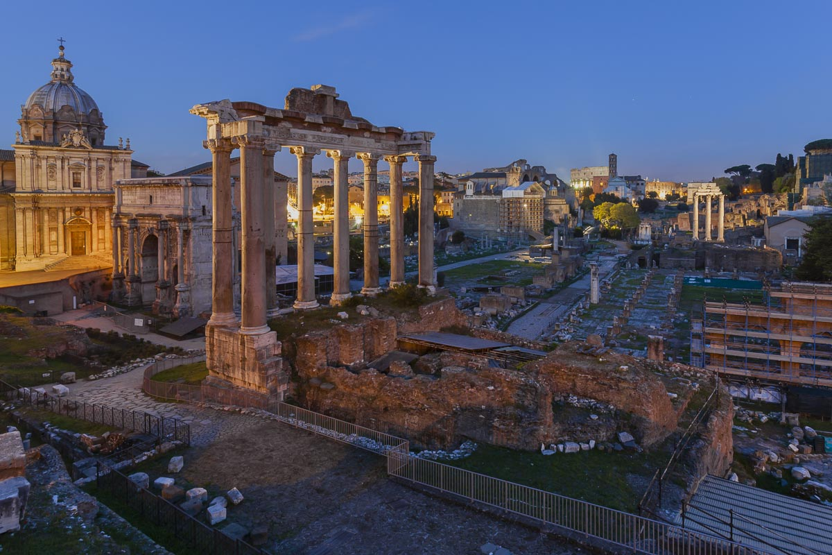 The Forum Rome attractions