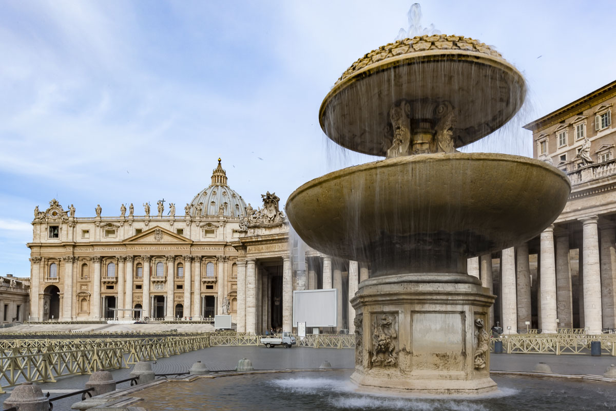 See the pope at the Vatican when you check out things to do in Rome