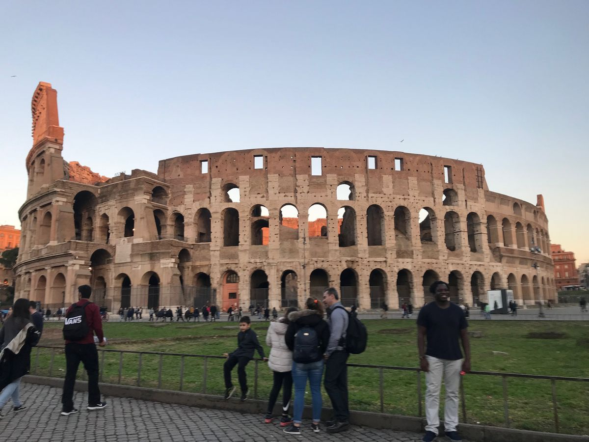 One of the best things to do in Rome is to see the Colosseum.
