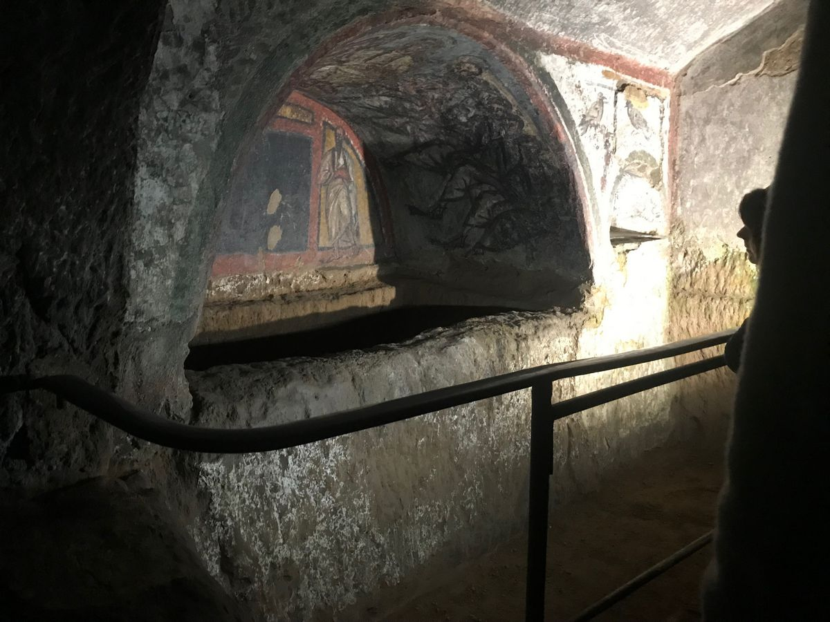 Visiting the Catacombs of Domitilla was one of the great things we saw in Rome