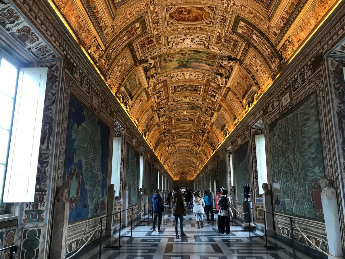One of the best things to do in Rome is visit the Vatican Museums