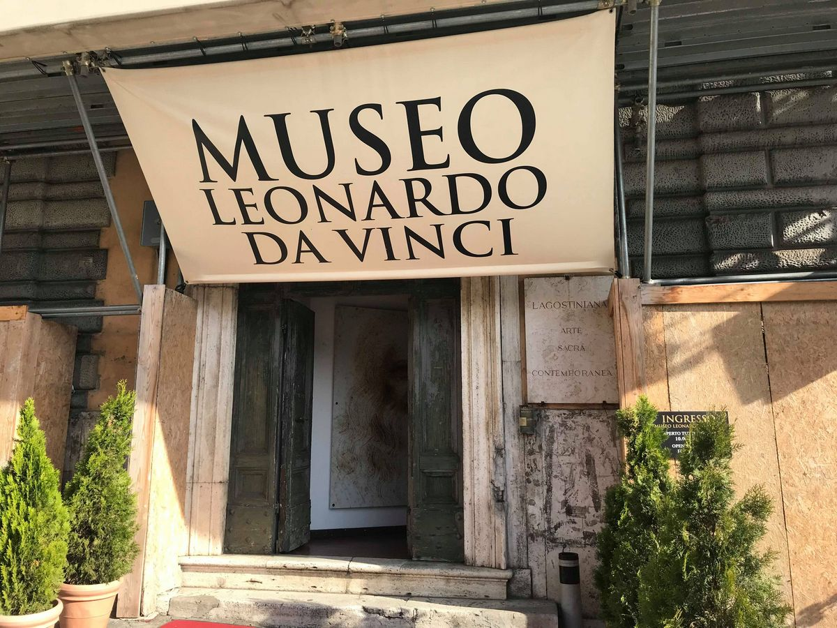A great site to see in Rome Leonardo da Vinci Museum