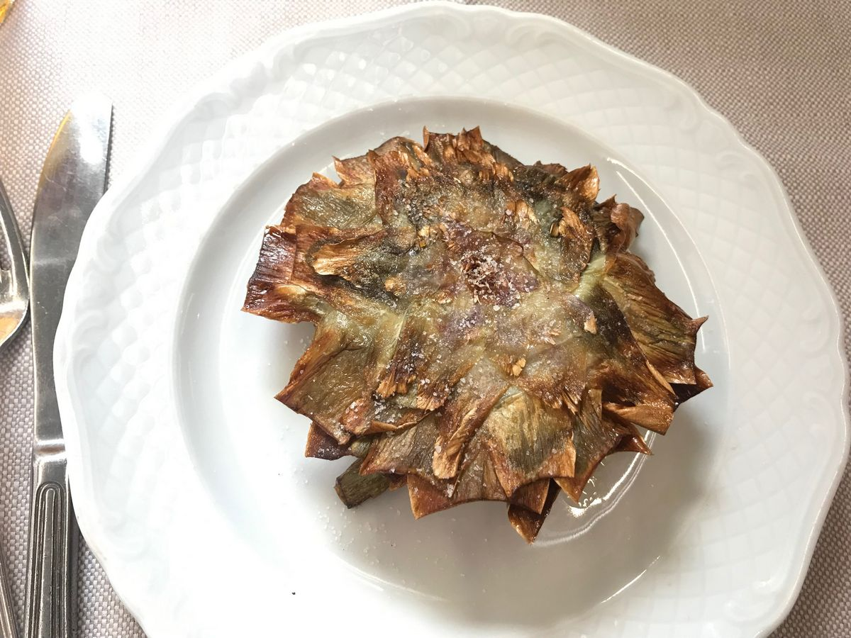 Eat Italian Best things to do in Rome Carciofi alla Guidia (Jewish artichokes)