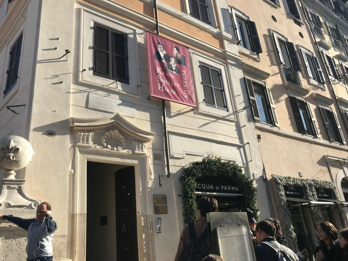 Things to see in Rome: Keats-Shelley House