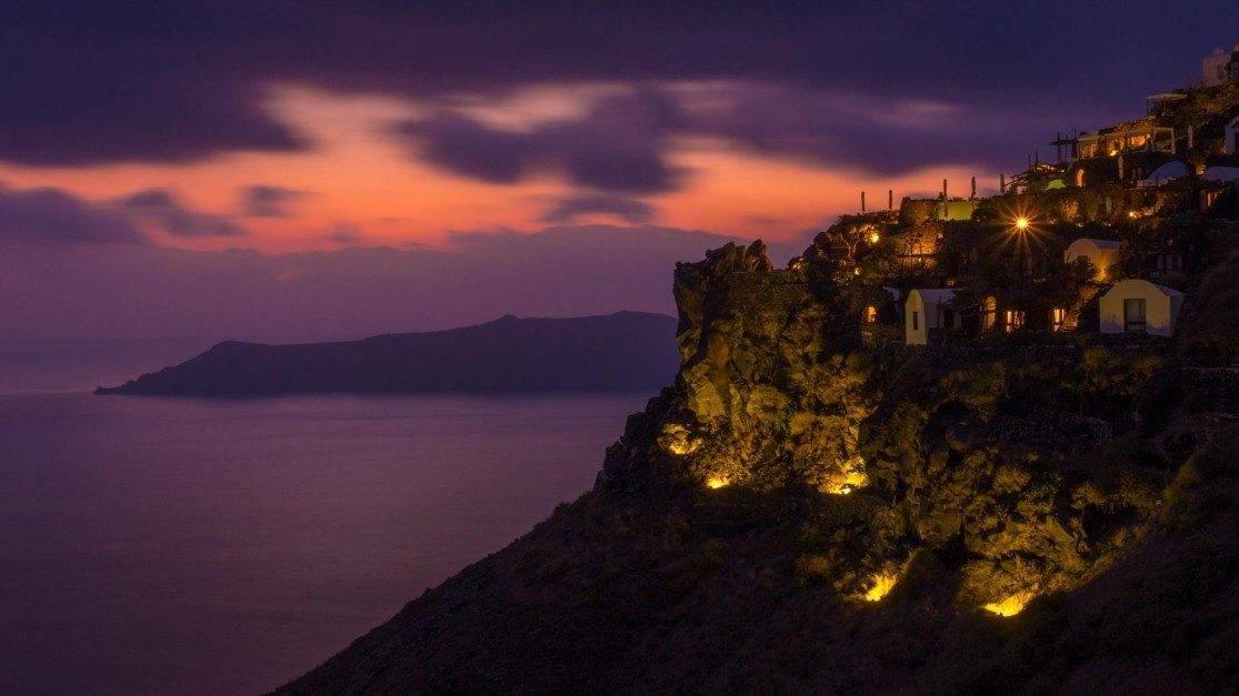 best place for sunset in Santorini