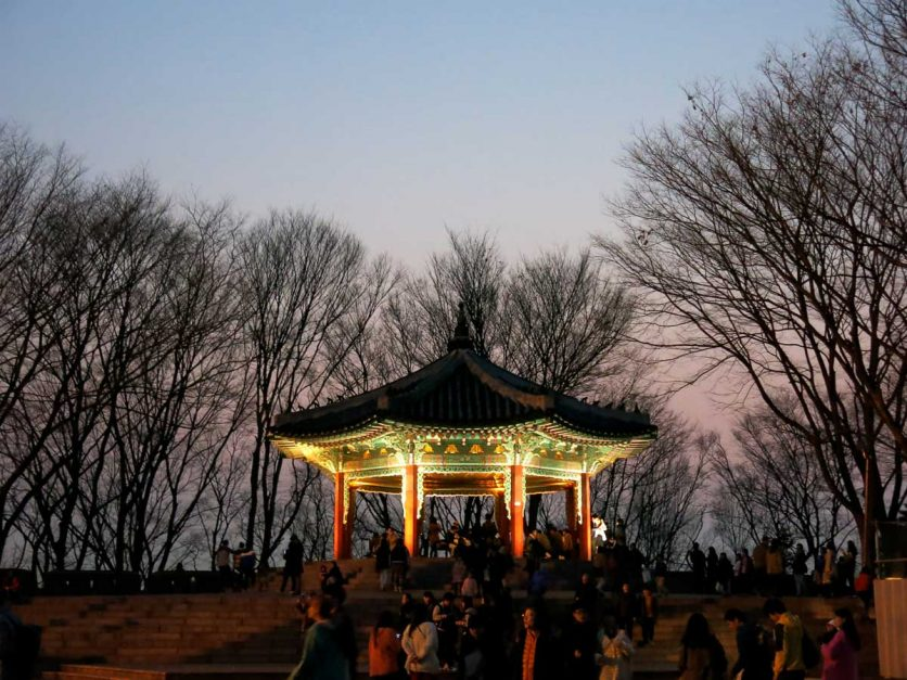 3 days in seoul itinerary namsan hill