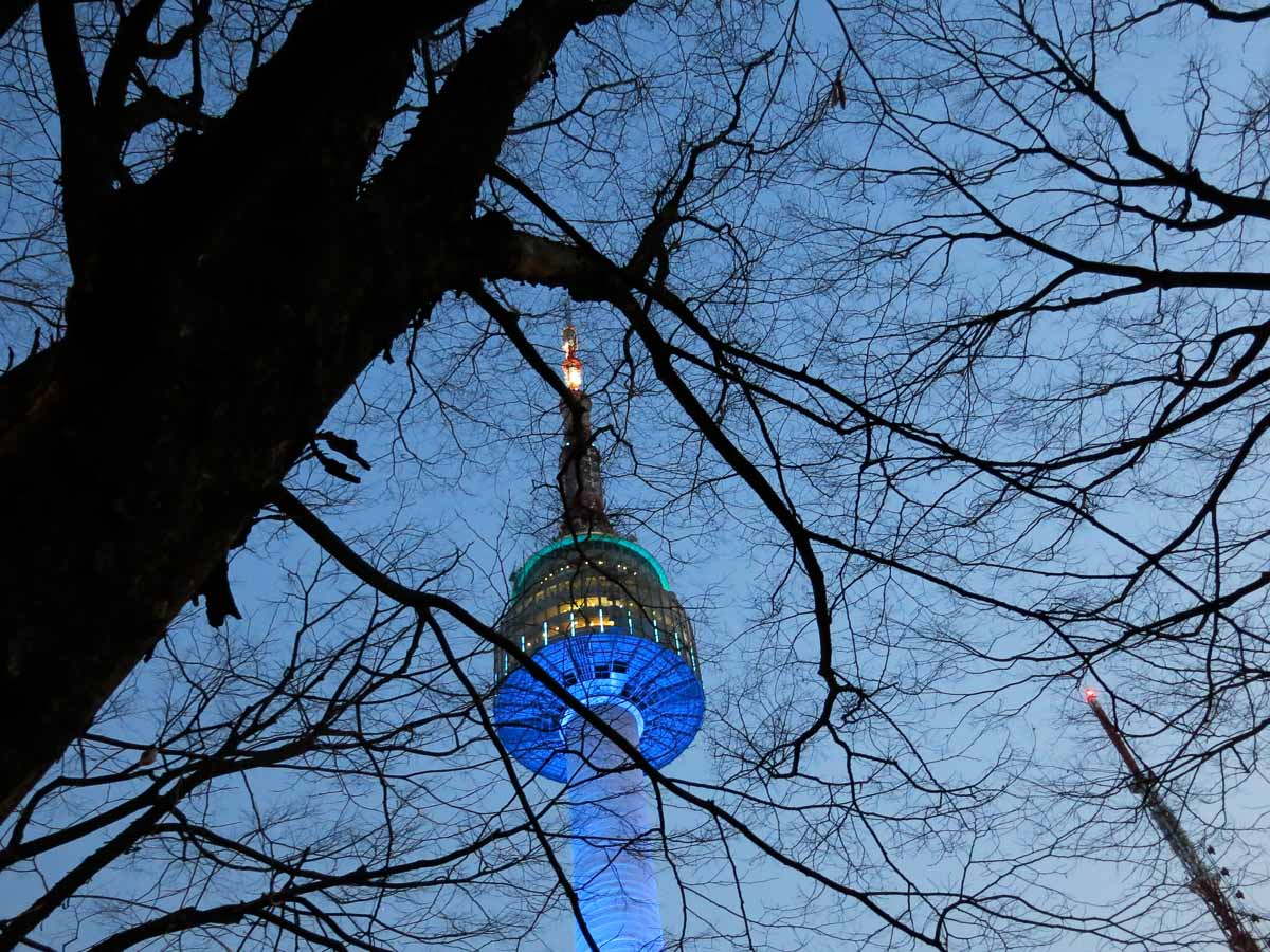 things to do in Seoul n-seoul tower