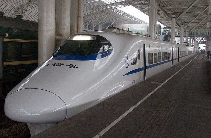 things to do in shanghai high speed train