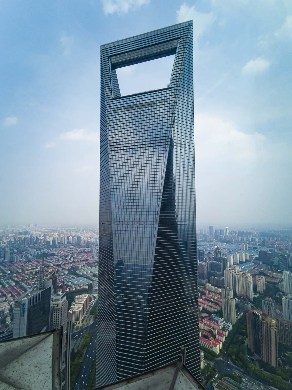shanghai what to do | observation deck view of World financial Center