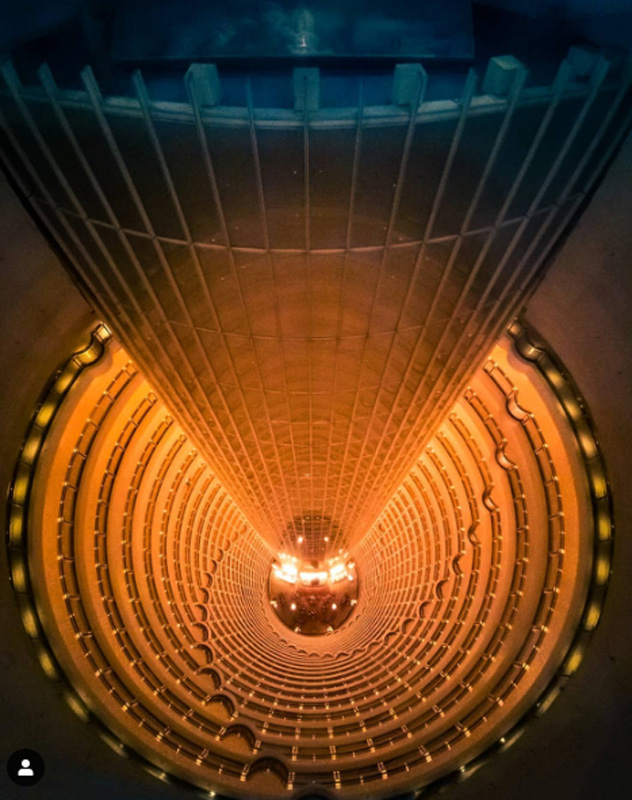 shanghai tourist attractions | Jin Mao Tower Interior
