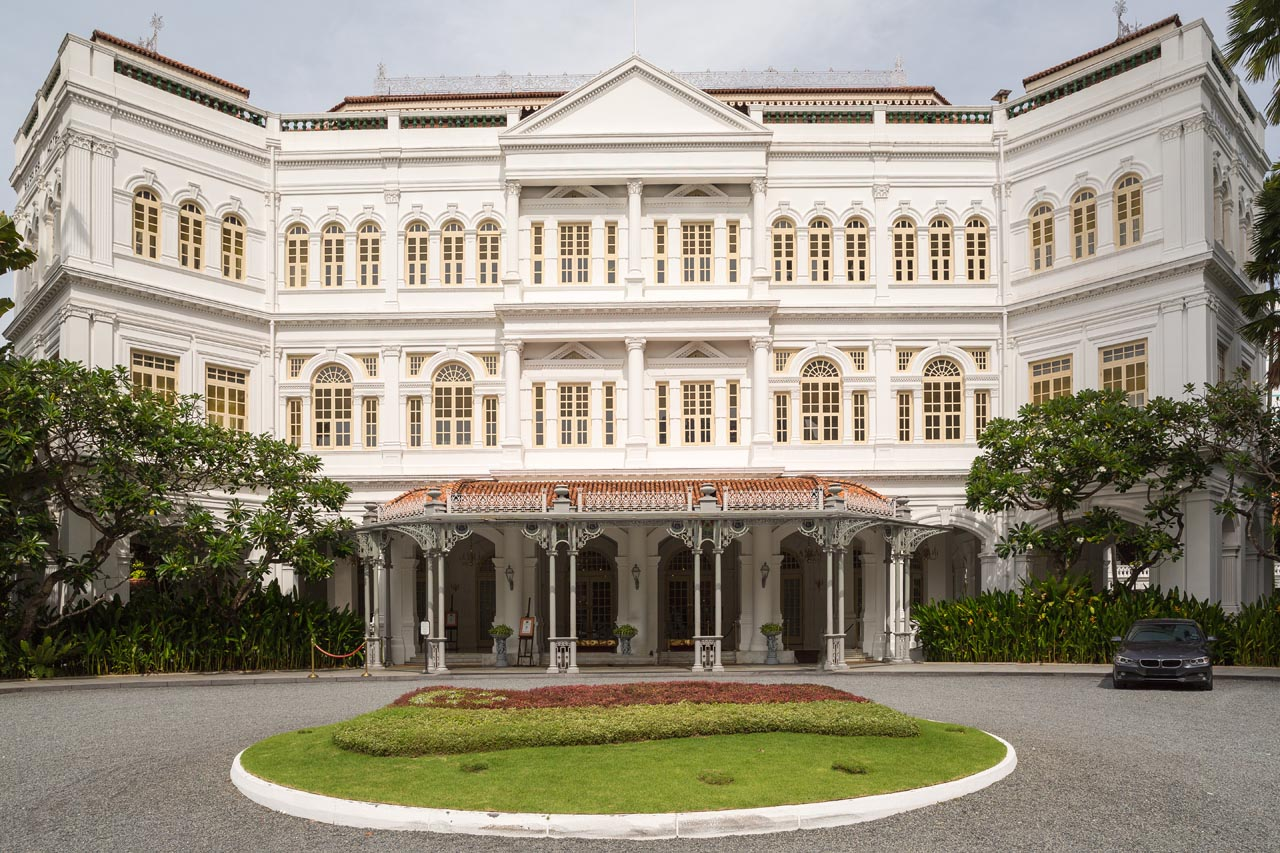 places to stay in singapore raffles hotel