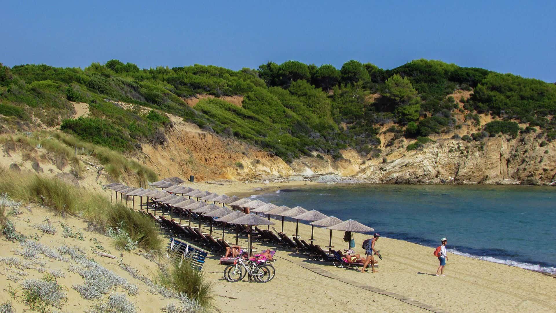 skiathos greece beach