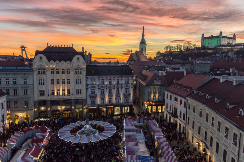 square in slovakia