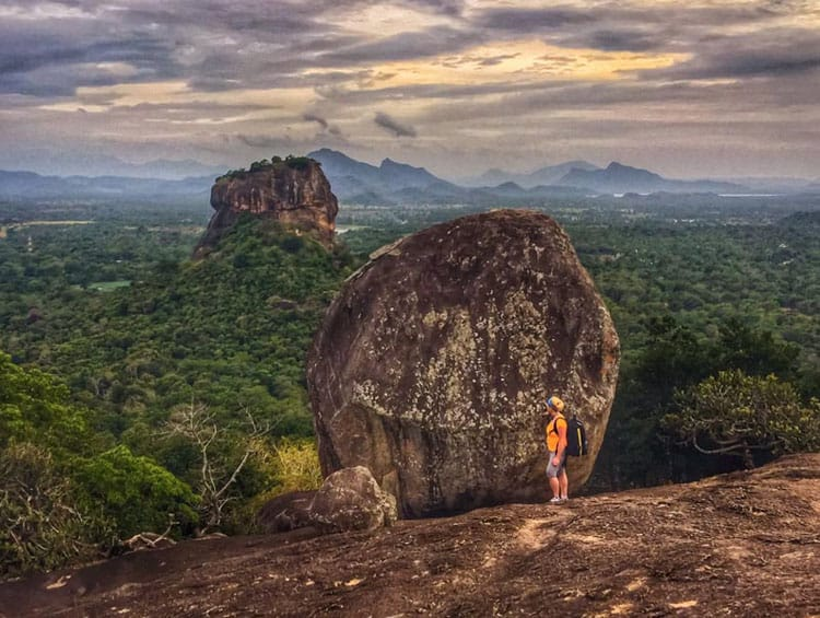 places to visit in sri lanka pidurangala