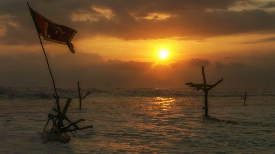 sri lanka photos featured images | fisherman's stilts