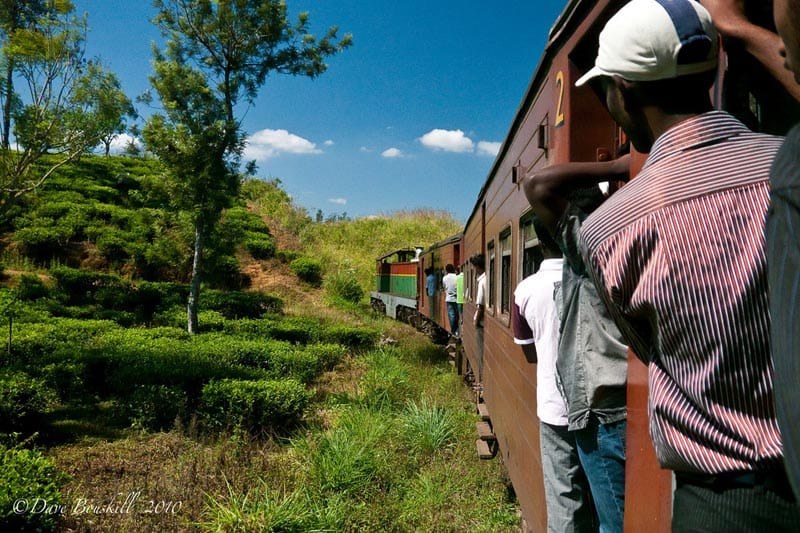 what to do in Sri Lanka - Take the Train
