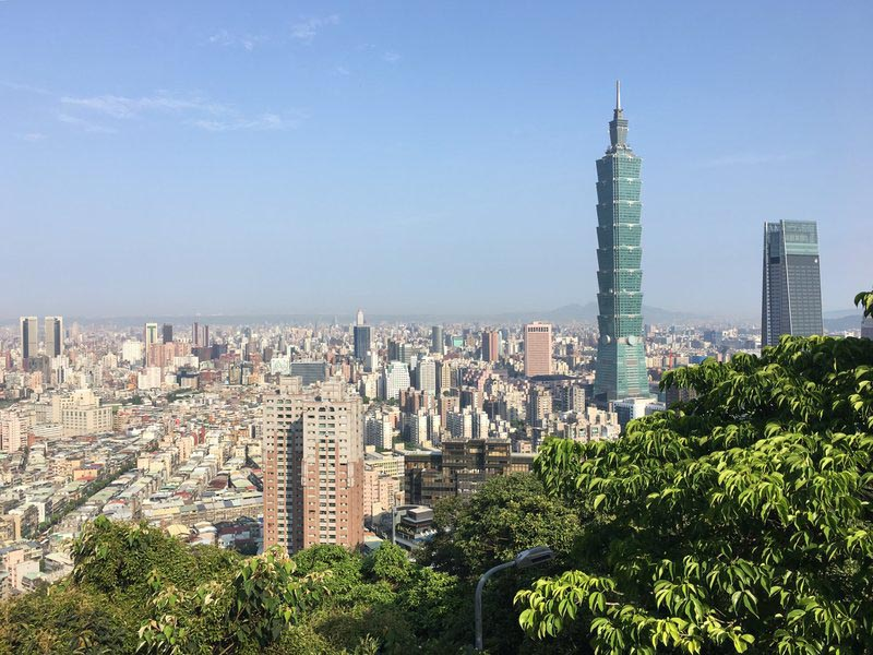 tihngs to do in taipei elephant mountain