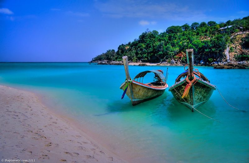 things to do in thailand | longtail boats