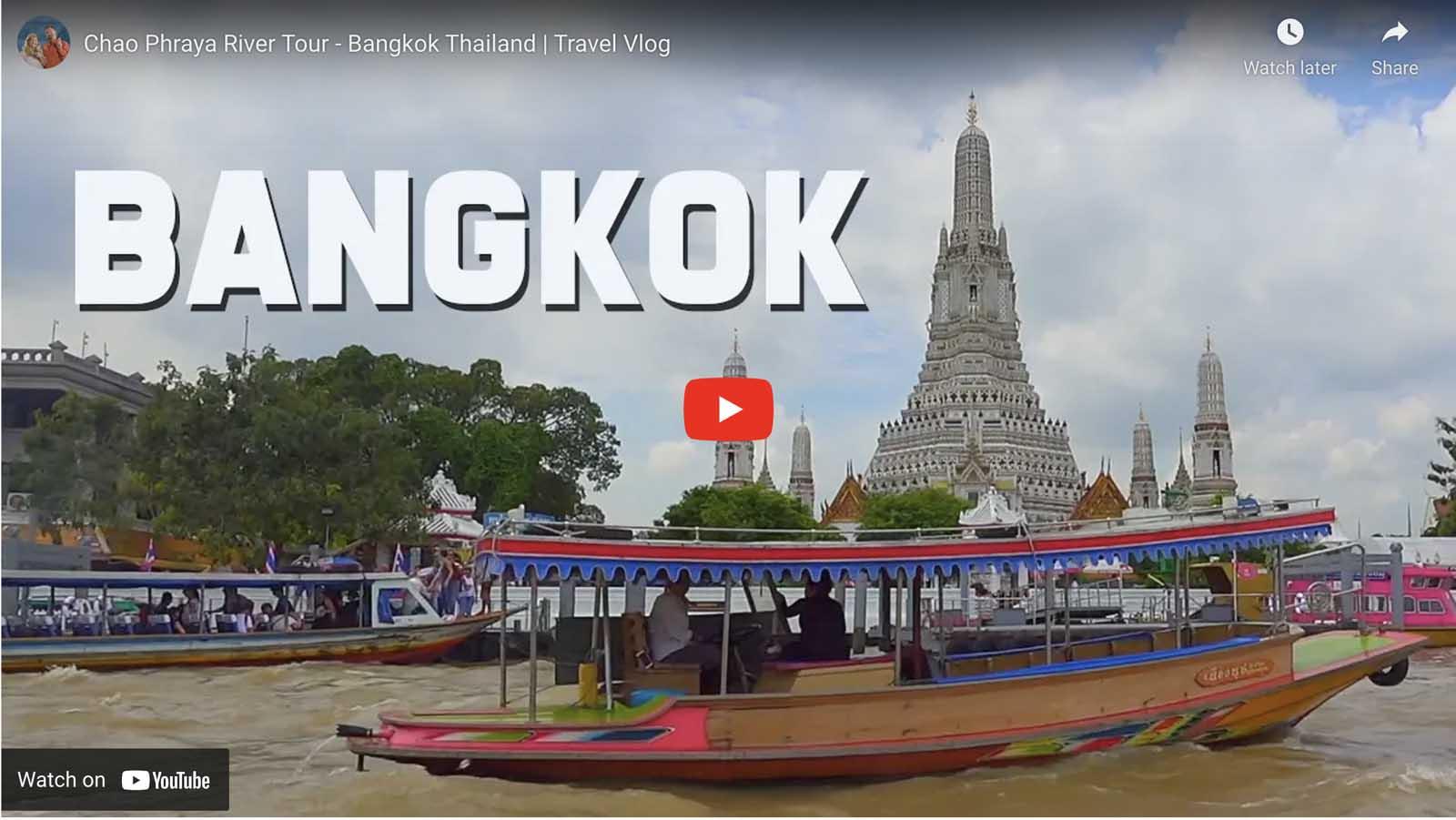 thailand what to do chao phraya river tour