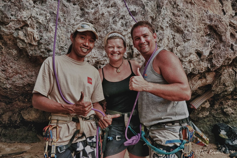 adventurous things to do in Thailand | rock climbing railay