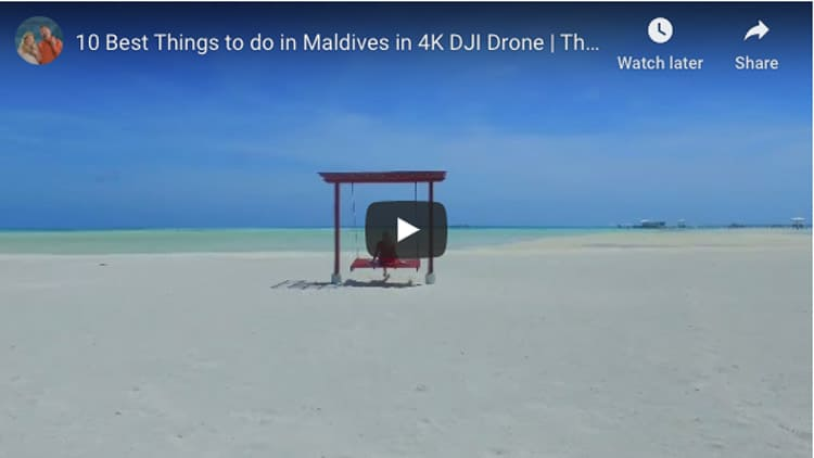 maldives things to do video