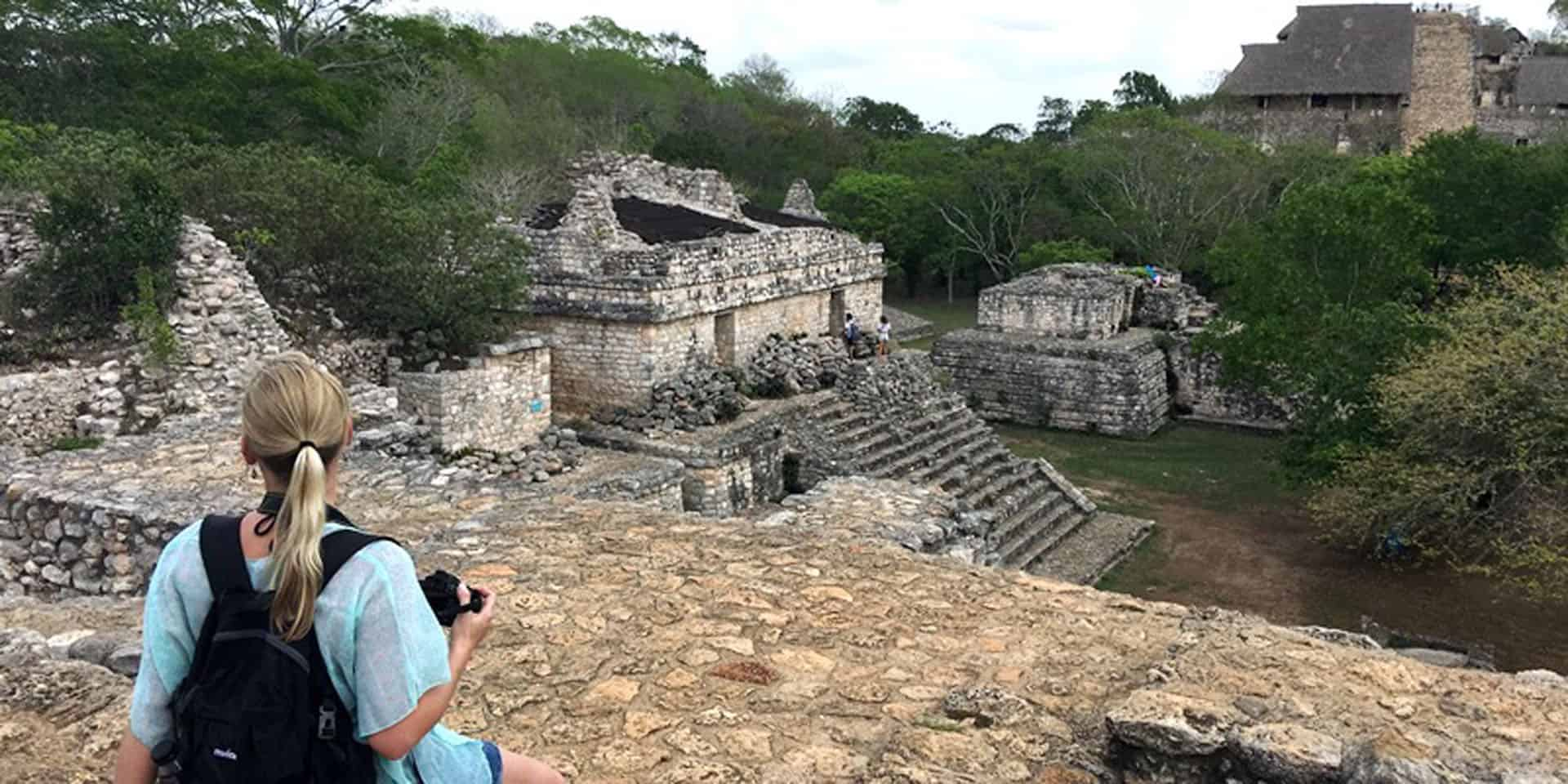things to do on the Yucatan Peninsula Mexico Ek Balam