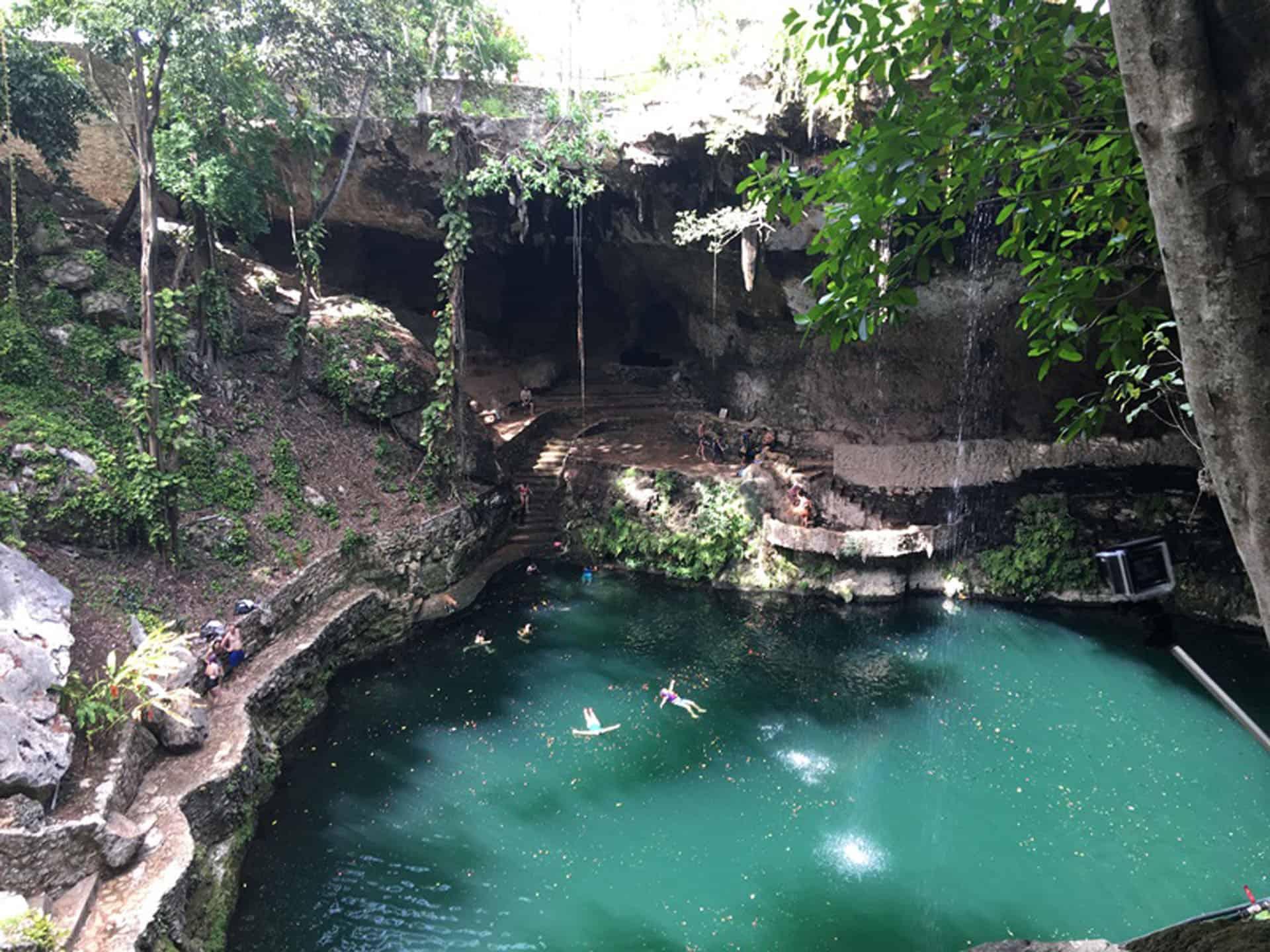things to do in Yucatan Cenote Zaci