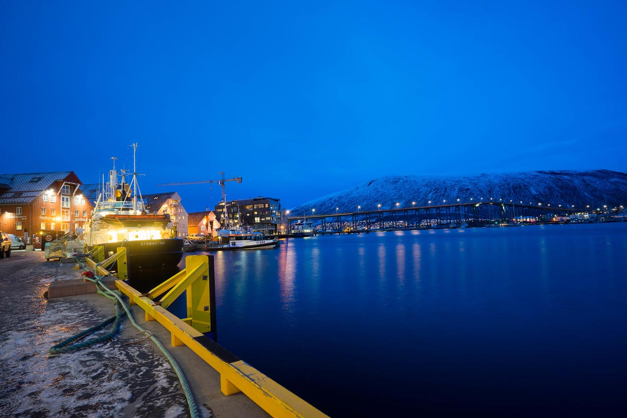 tromso norway waterfront