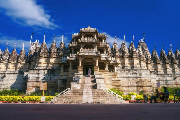 udapur attractions Ranakpur Jain Temple