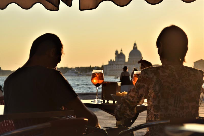 things to do in venice | sunset on grand canal