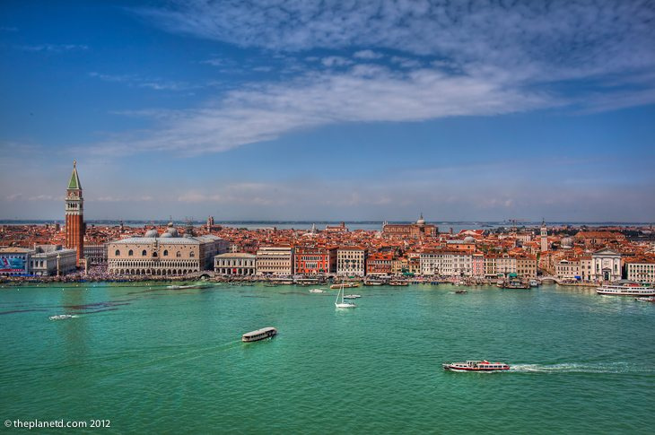 things to do in venice | bell tower of San Giorgio Maggiore