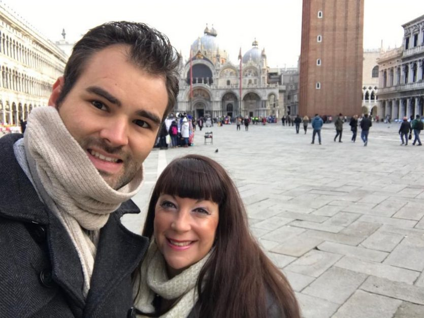 venice italy things to do | selfie at saint mark's square