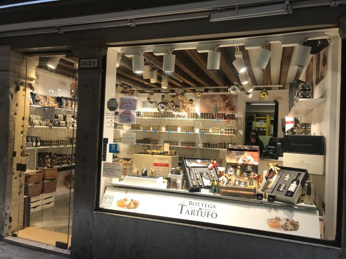 venice attractions | La Bottega del Tartufo