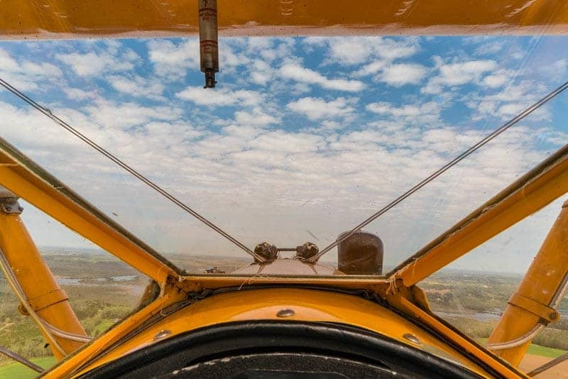what to do in virginia beach biplane flight