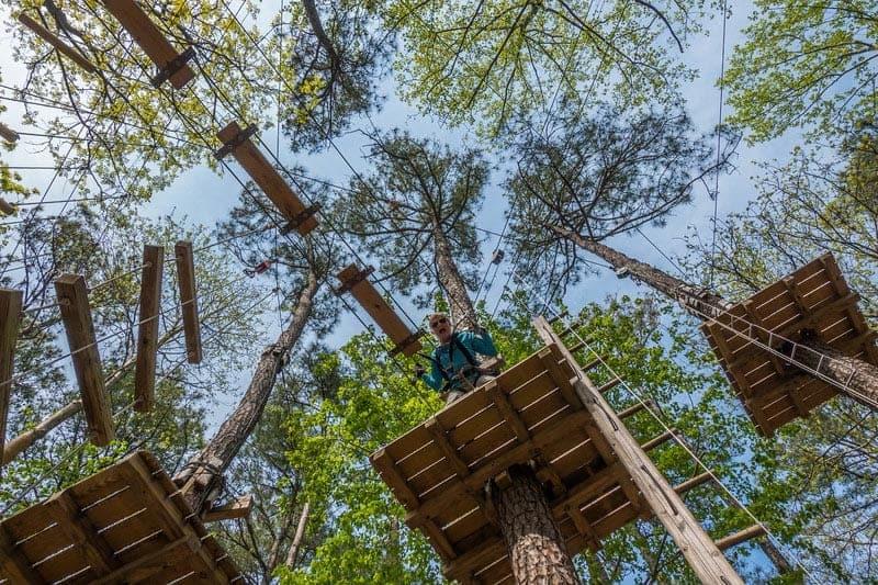 what to do in virginia beach adventure park platform